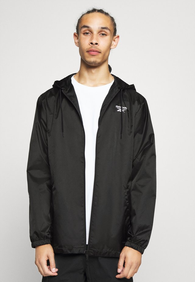 VECTOR WINDBREAKER - Chaqueta fina - black