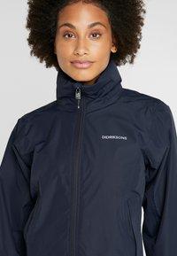 Didriksons - NOOR WOMENS - Waterproof jacket - dark night blue - 6