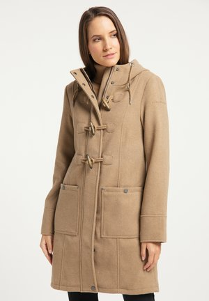 Winter coat - beige melange