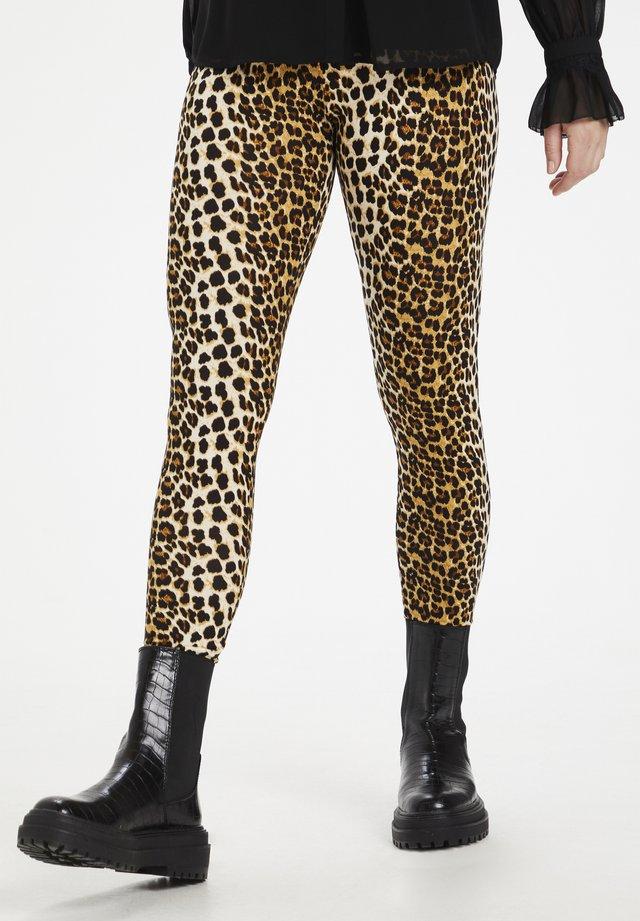 CUSEMIRA  - Leggings - Trousers - tannin