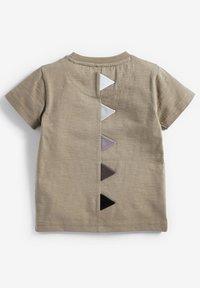 Next - TOY STORY REX DINO 3D SPIKES JERSEY T-SHIRT - T-shirt print - grey - 1