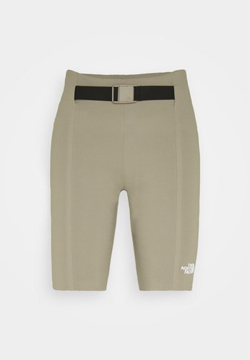 WAIST PACK SHORT - Collant - mineral grey