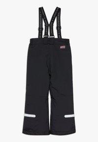 LEGO Wear - LWPOWAI  - Spodnie narciarskie - black - 1