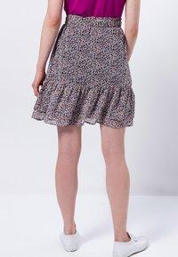 zero - A-line skirt - magenta rouge - 2