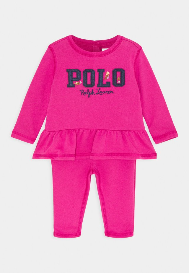 SET - Sweatshirt - college pink