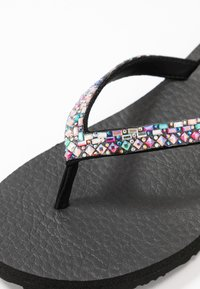 Skechers - MEDITATION - T-bar sandals - black/multicolor - 2