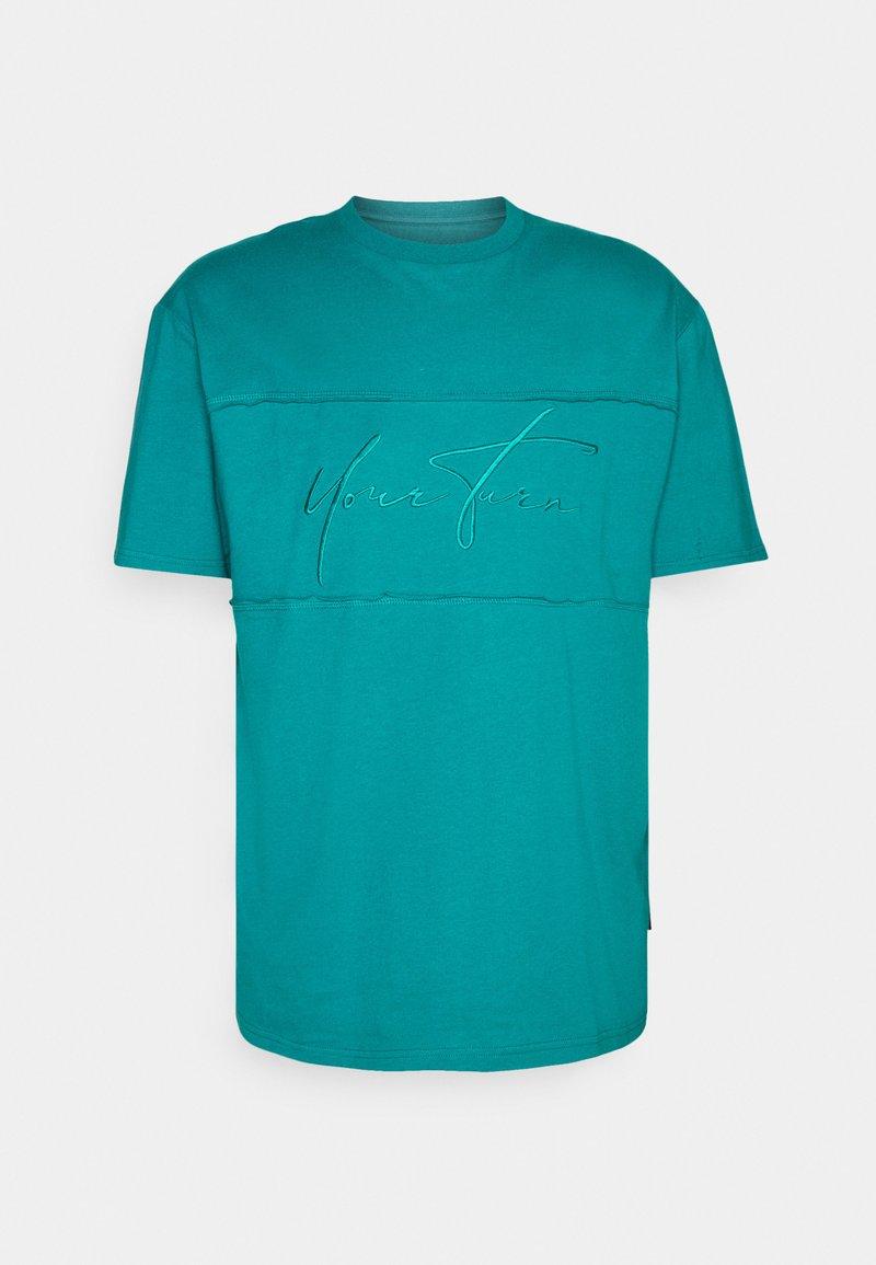 YOURTURN - UNISEX - Basic T-shirt - blue