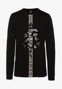 Glorious Gangsta - DEVANEYLONGSLEEVE TEE - T-shirts basic - black - 4