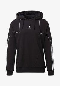 adidas Originals - BIG TREFOIL ABSTRACT HOODIE - Hoodie - black - 7