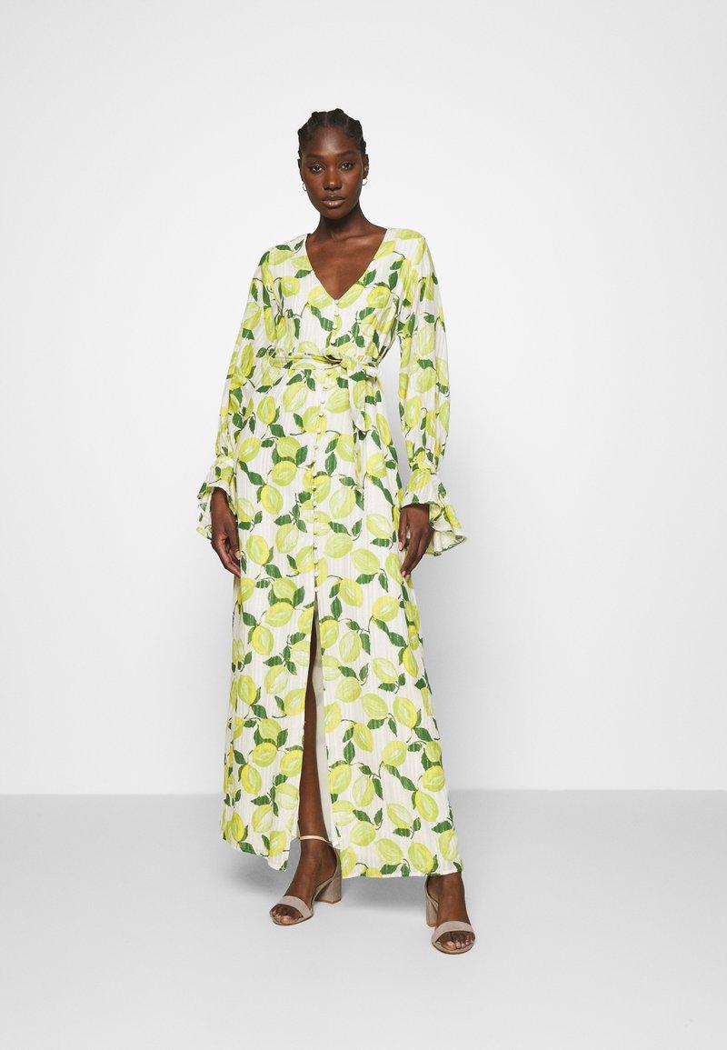 Fabienne Chapot - OUTSHINE THE BRIDE DRESS - Maxi šaty - lime lights