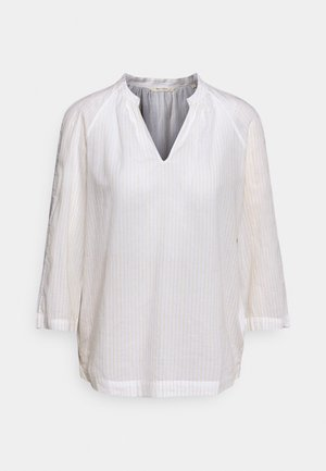 BLOUSE THREE QUATER SLEEVE - Blůza - white