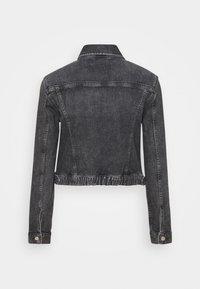 Calvin Klein Jeans - CROPPED JACKET - Denim jacket - denim grey - 8