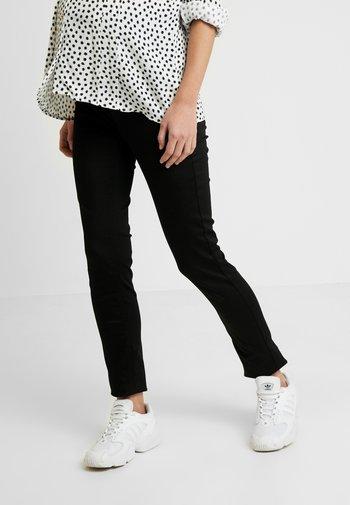 PANTS SLIM - Straight leg -farkut - black