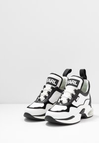 KARL LAGERFELD - LAZARE MID  - Sneakers high - white/black - 4
