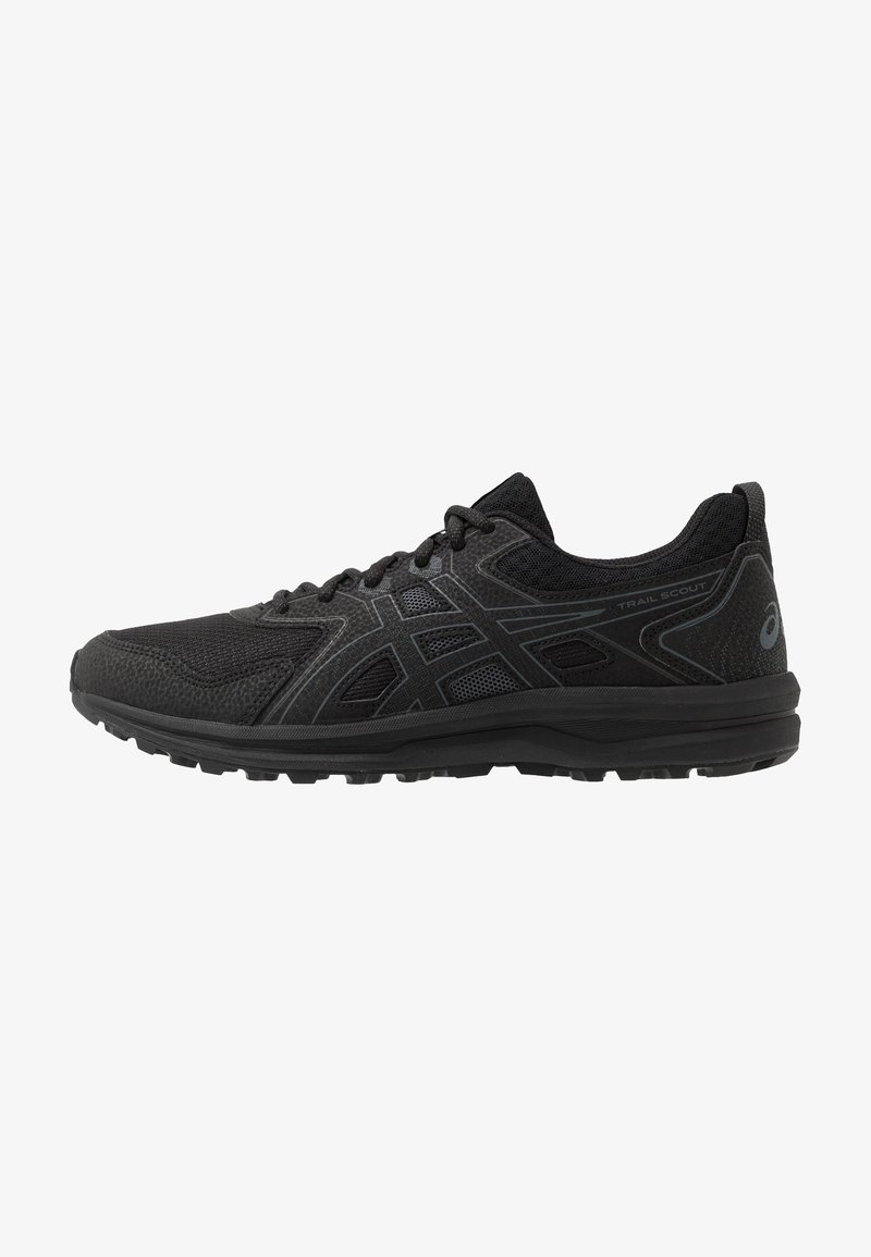 ASICS - SCOUT - Trail running shoes - black/carrier grey