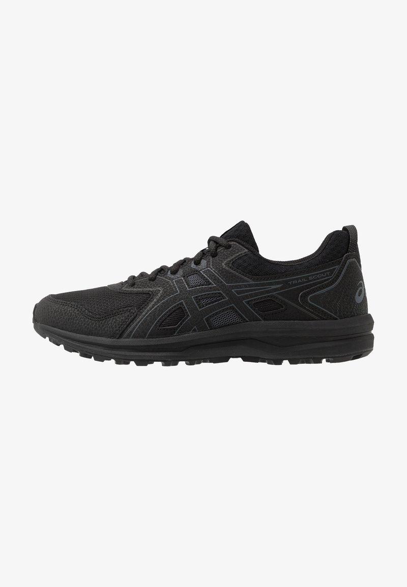 ASICS - SCOUT - Chaussures de running - black/carrier grey