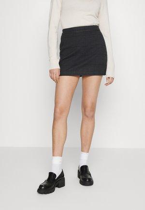 CLEAN SKORT - Minigonna - dark gray