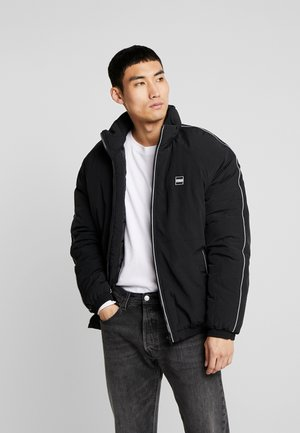 REFLECTIVE PIPING JACKET - Winter jacket - black
