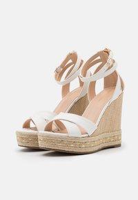 Tata Italia - Platform sandals - white - 2