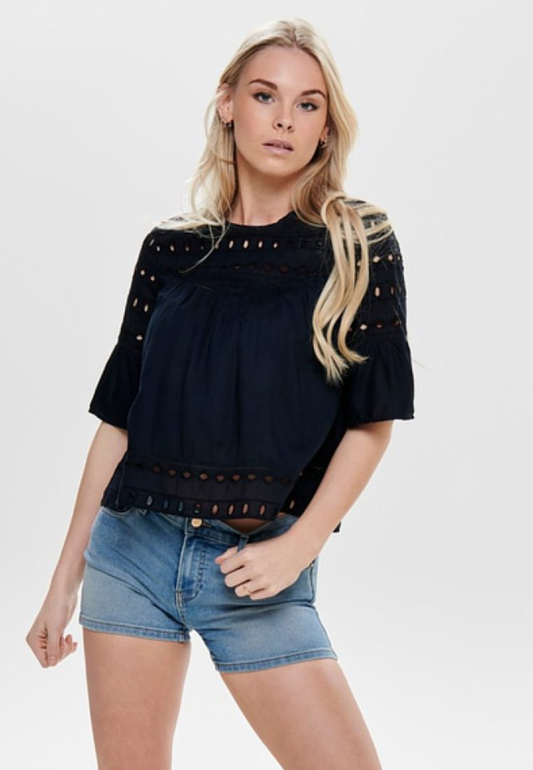 ONLY - ONLIRINA ANGLAISE - Blouse - insignia blue