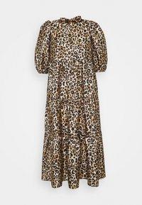 Cras - DRESS - Sukienka letnia - brown/black - 0