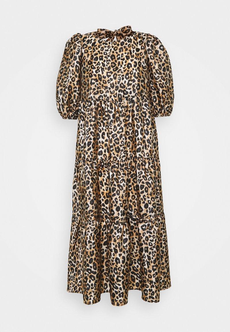 Cras - DRESS - Sukienka letnia - brown/black