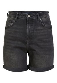 Pieces - Denim shorts - black - 0
