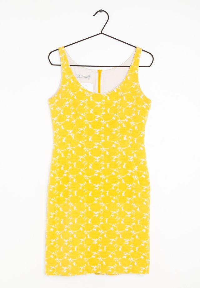 Vestido de tubo - yellow