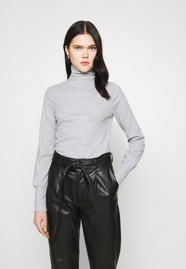 COSY ROLL NECK - Långärmad tröja - mid grey