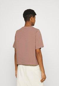 Weekday - TRISH - Basic T-shirt - brown - 2