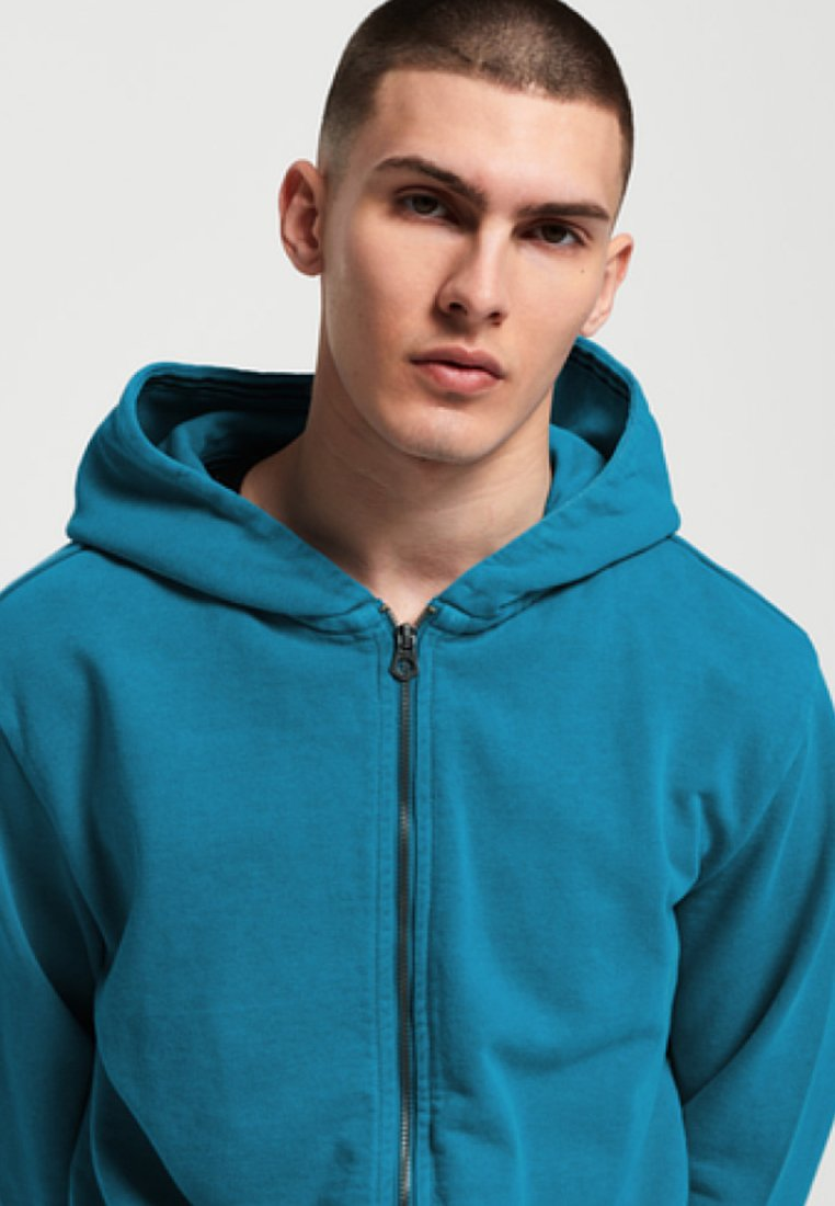 Superdry ORIGINALS - veste en sweat zippée - blue