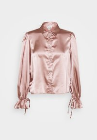 Miss Selfridge - TIE CUFF - Button-down blouse - pink - 0