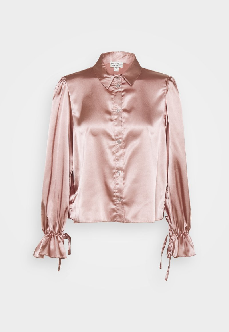 Miss Selfridge - TIE CUFF - Button-down blouse - pink