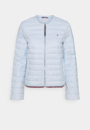 COLLARLESS - Down jacket - breezy blue