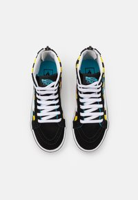 Vans - SK8 ZIP UNISEX - High-top trainers - black/multicolor - 3