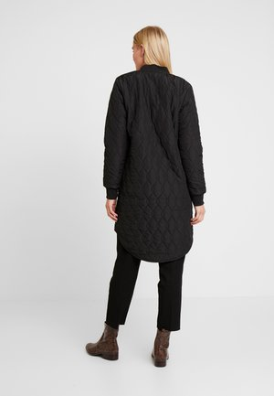 SHALLY QUILTED - Winter coat - black deep