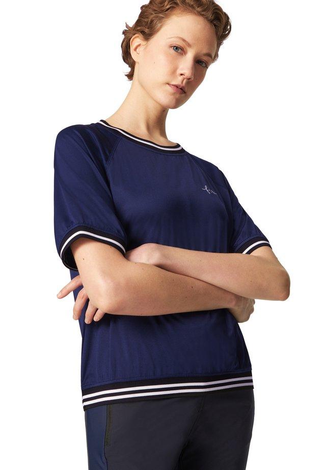 CANDICE - Triko spotiskem - navy-blau