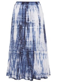 Yours Clothing - Pleated skirt - blue - 3