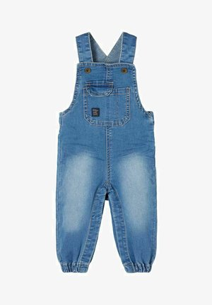 Dungarees - medium blue denim