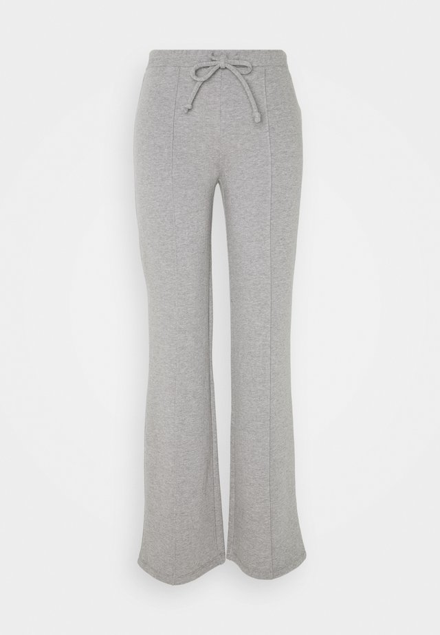 DRAWSTRING TROUSER - Pantaloni - heather grey