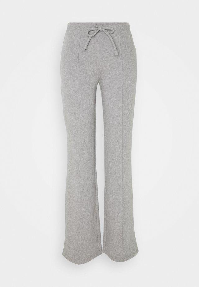 DRAWSTRING TROUSER - Bukse - heather grey