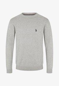 U.S. Polo Assn. - ADAIR - Sweter - grey melange - 2