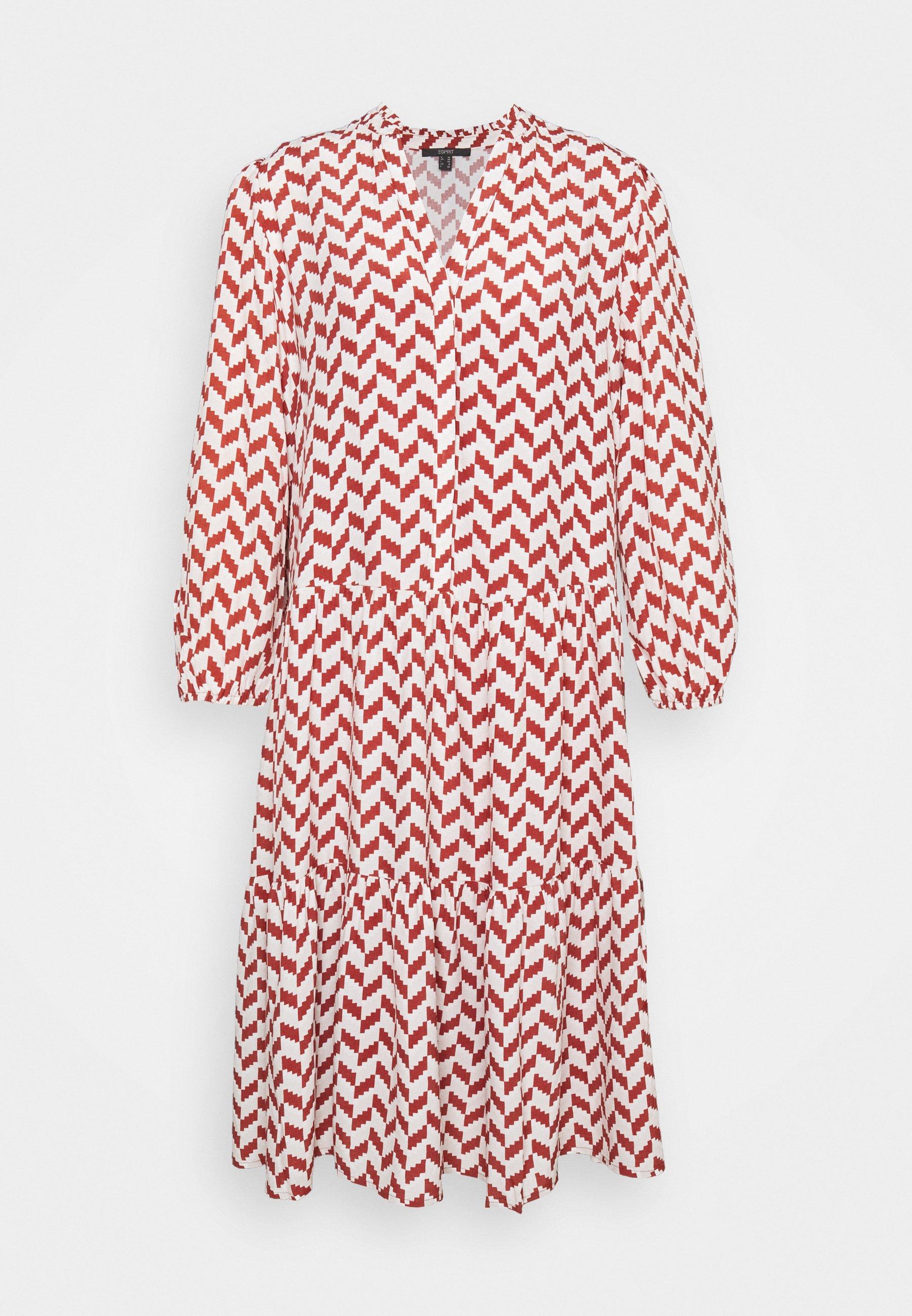 Women TIRED DRESS GRAPHIC PRINT - Day dress