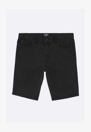 OUTSIDER - Shorts di jeans - oil spill
