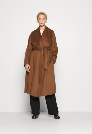 BATHROBE COAT - Classic coat - brown