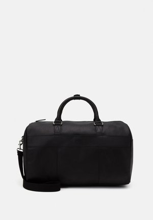 UNISEX LEATHER - Weekendtasker - black