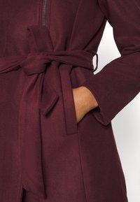ONLY - ONLCANE COAT - Krátký kabát - bordeaux - 6