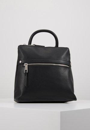JORISEEN - Batoh - jet black/silver-coloured