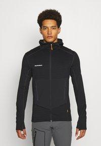 Mammut - ACONCAGUA - Zip-up hoodie - black - 0