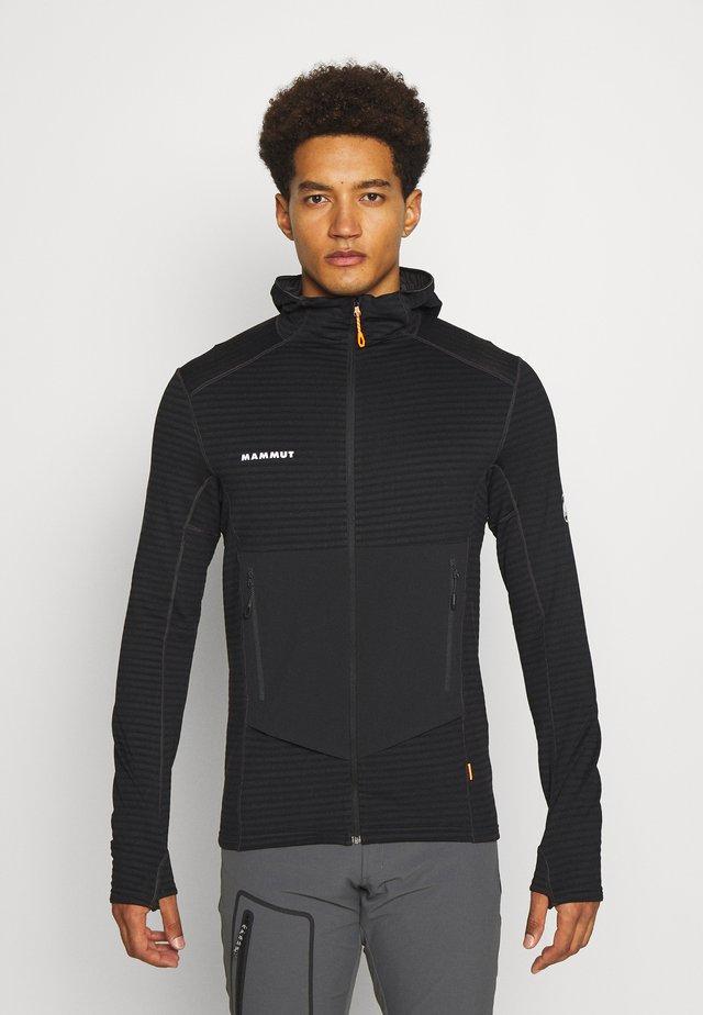 ACONCAGUA - veste en sweat zippée - black